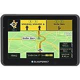 Blaupunkt TravelPilot 55 ACTIVE CE LMU - Navigationssystem mit Aktiv-Halter, kapazitives Echtglas Touch-Farbdisplay 12,7 cm (5 Zoll), Kartenmaterial Zentraleuropa, lebenslange Karten-Updates*, TMC, schwarz