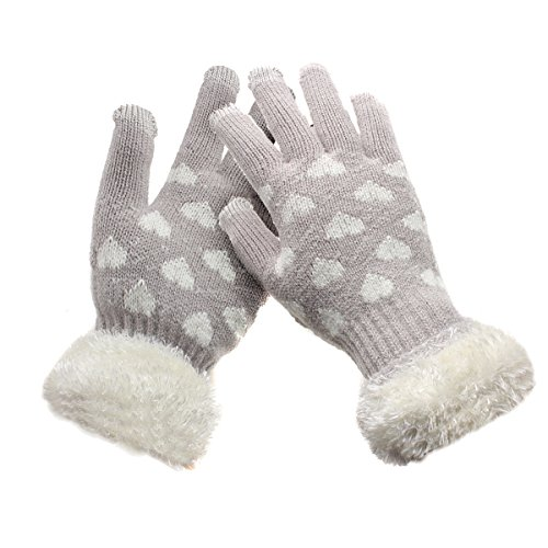 1 Pair Adult Cycling Sport Half Finger Hand Glove (Grey) - 7