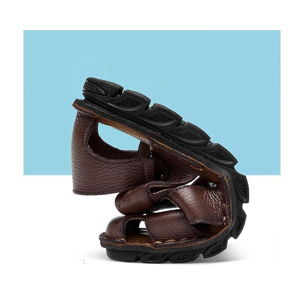 LYZGF Mode Männer Jugend Sommer Casual Baotou Sandalen Mode LYZGF Atmungsaktive Rutschfeste Hausschuhe schwarz 9a22e6