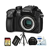 Cheap Panasonic LUMIX DMC-GH4KBODY 16.05 MP Digital Single Lens Mirrorless Camera w/ 4K Cinematic Video Recording Body + 64GB U3 Card + Polaroid Tripod+ Polaroid Spare Battery + Ritz Gear Bag + Accessories