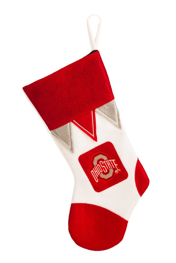 Team Sports America Ohio State Microfleece Christmas Stocking