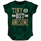 NCAA Colorado State Rams Newborn & Infant Tiny But Awesome Bodysuit, Hunter Green, 18 Months