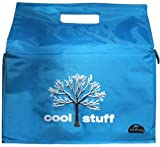 Kerribag Insulated Reusable Grocery Shopping tote bag in Blue with tree print