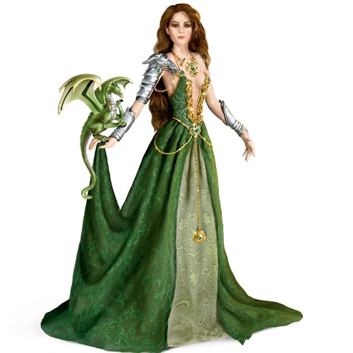 Nene Thomas Emerald Enticement Fantasy Doll by Ashton (Mystique Costume For Sale)