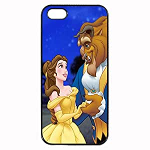 Beauty And The Beast Belle All Character Unique Custom Image Case iphone 5 case , iphone 5S case, Diy Durable Hard Case Cover for iPhone 5 5S , High Quality Plastic Case By Argelis-sky, Black Case New