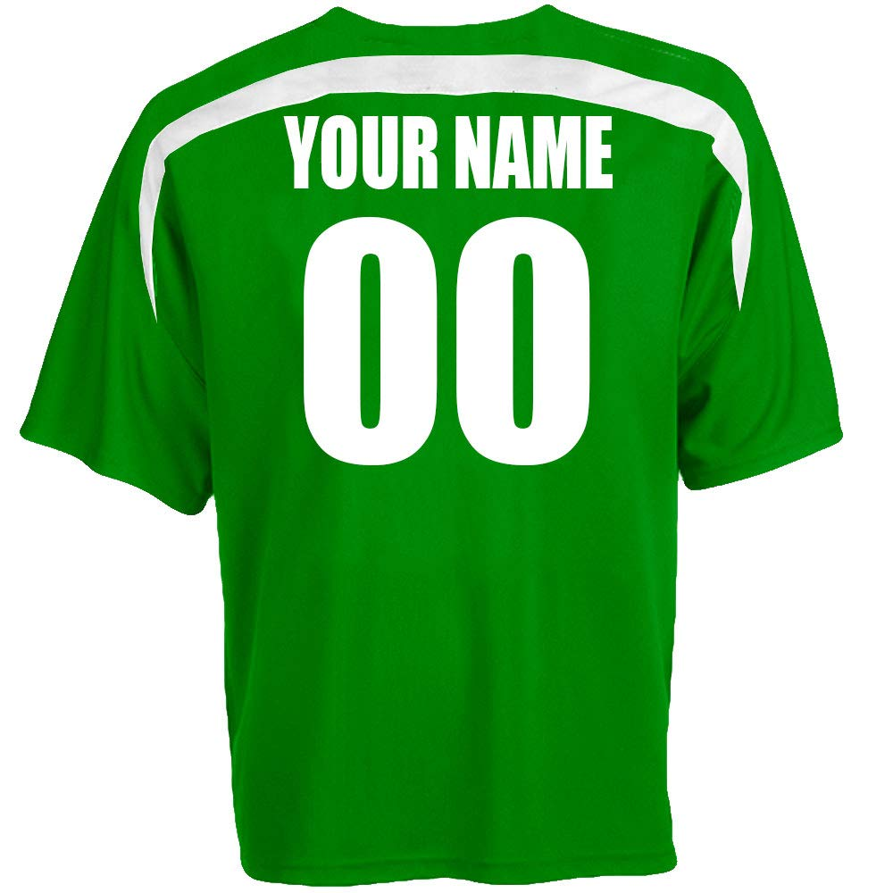 Amazon Custom Mexico Soccer Jersey Personalized With Your Names