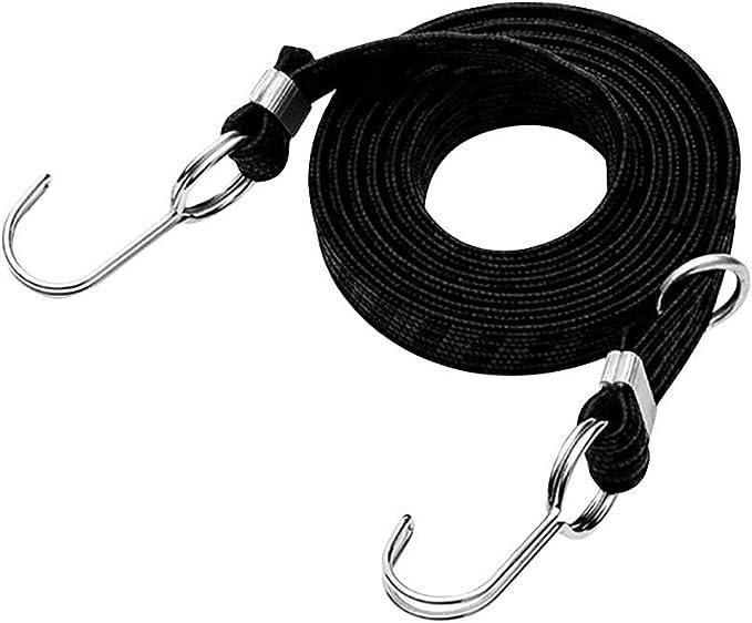 schwarz, 10 f/ür zum N/ähen /& Basteln YueChen 3MM Elastisches Band//DIY Seil//Bungee Gummiband Gummilitze W/äscheband Gummizug