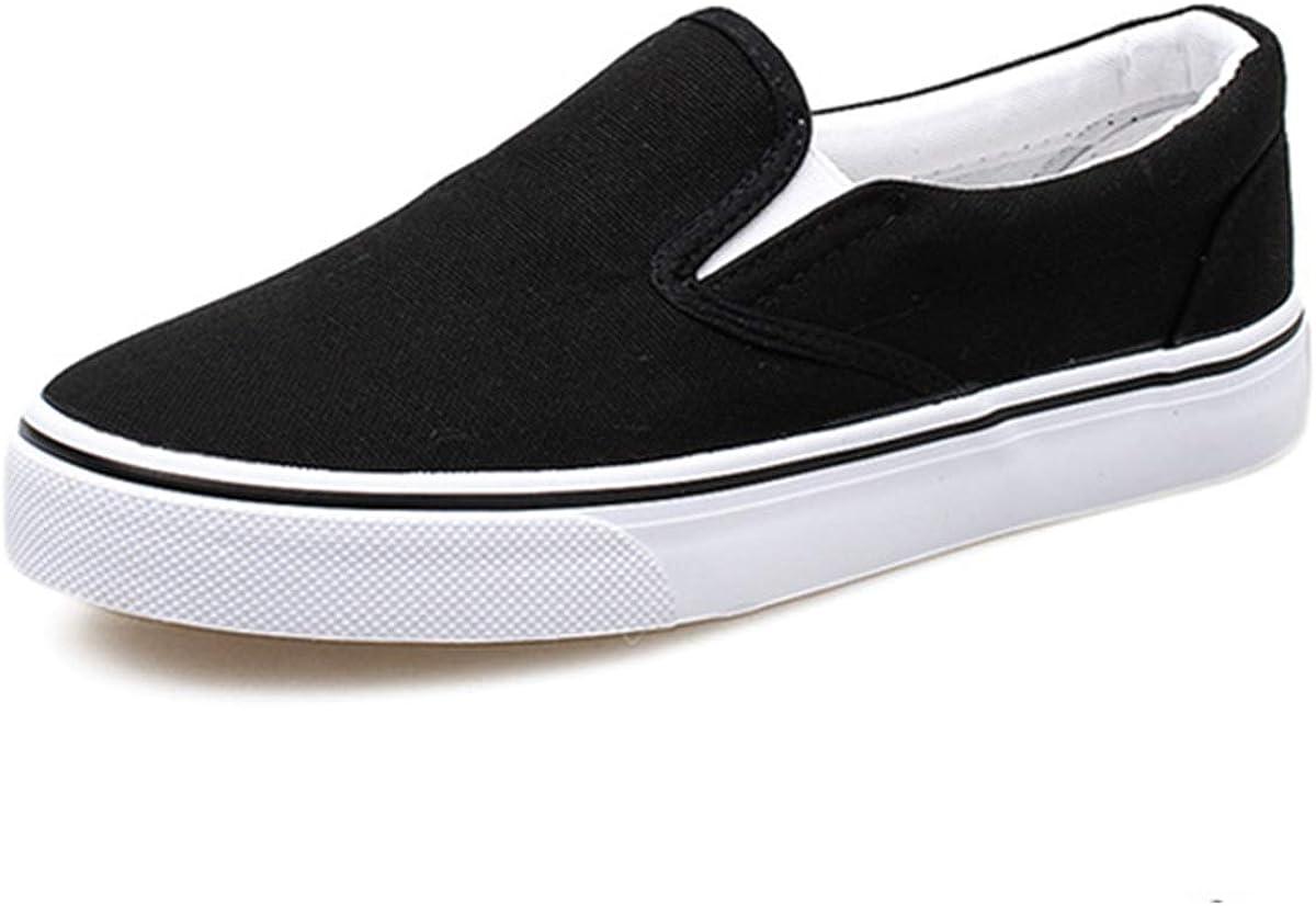 Women Canvas Slip-On Sneakers Soft