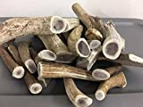 1 Pound 2 ~ 3 Piece Large-Extra Lbs Fresh Premium Elk & Deer Antler Dog Chew Inner Core NEW