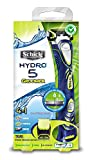 Schick Hydro 5 Men's Styling Razor with Body Groomer and Beard Trimmer