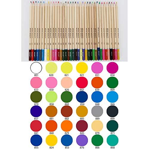 36 Colors DEALPEAK 52Pcs//Set Colored Pencils Art Drawing Coloring Sketch Pencil Kit with Sharpener Coloring Supplies