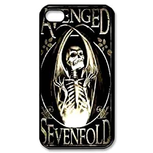 Band Avenged Sevenfold poster phone Case Cover For Iphone 4 4S case cover FANS331968