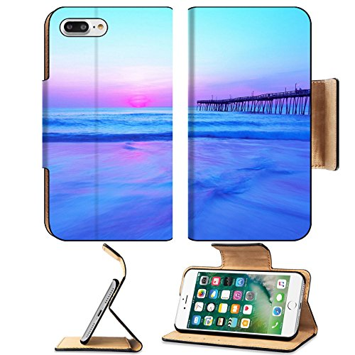 Msd Premium Apple Iphone 7 Plus Flip Pu Leather Wallet Case Outer Banks Blue And Pink Sunrise Image Id 24734174