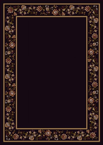 Design Center Khorrasan Onyx Rug Rug Size: 7'8