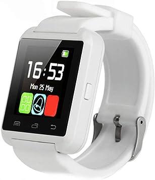 GBAIRIY U8 - Reloj Inteligente con Bluetooth y Monitor de sueño ...