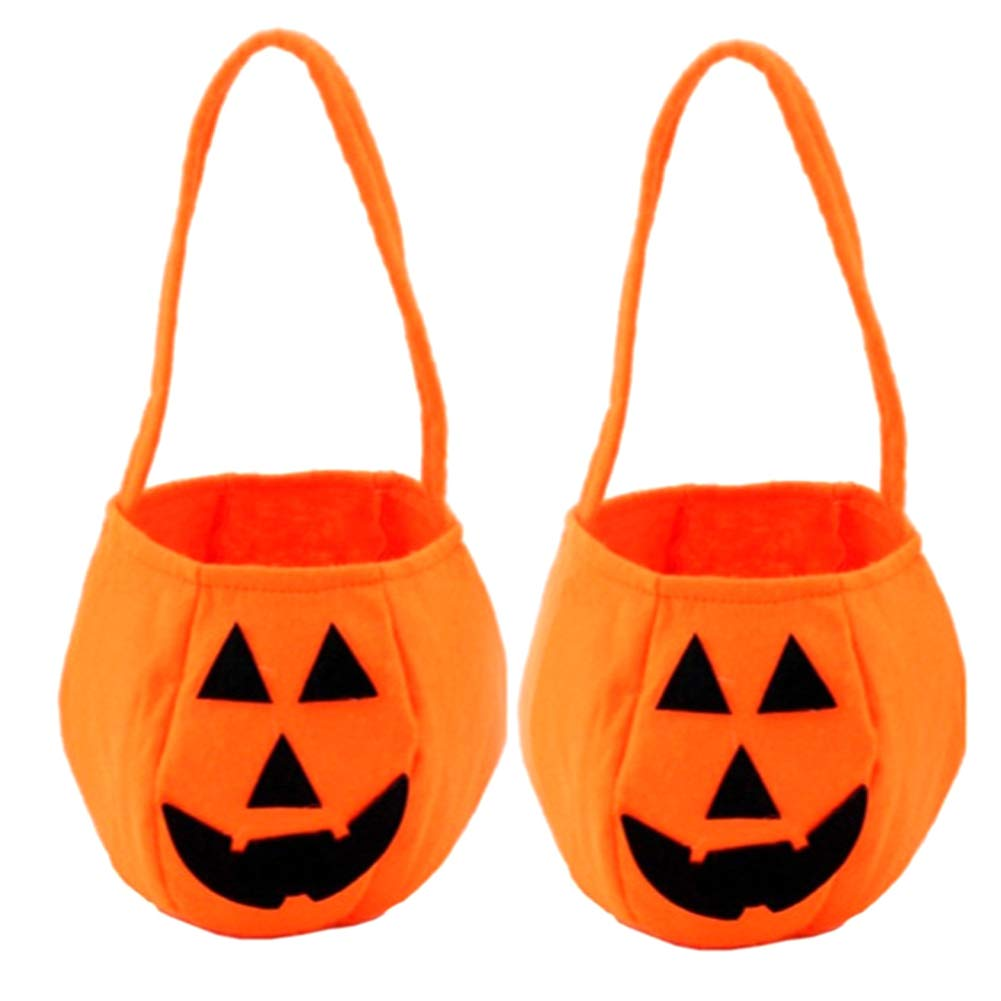 Amazon.com: smallwoodi Halloween Pumpkin Bag Halloween ...