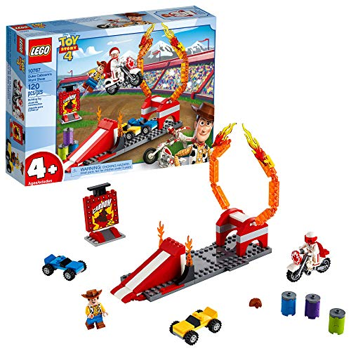 LEGO | Disney Pixar's Toy Story Duke Caboom's Stunt Show 10767 Building Kit, New 2019 (120 Piece)