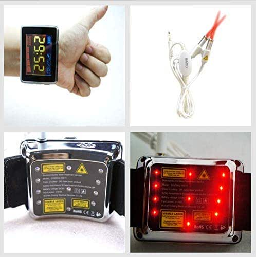COZING Laser Therapy Watch, Cold Laser Therapy Equipment for Treatment Hypertension Hyperglycemia Hyperlipidemia