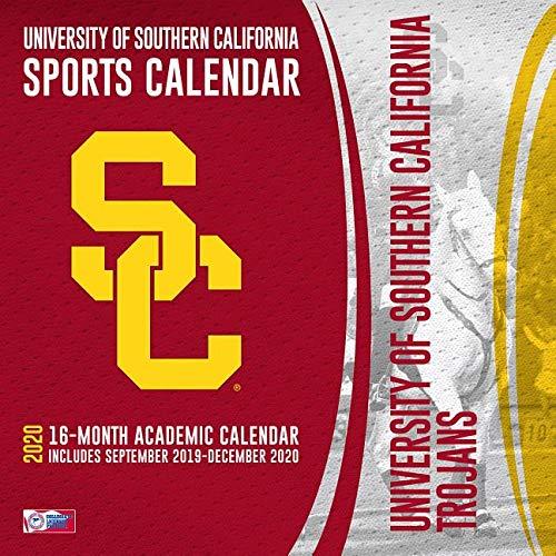 Usc 2020 Calendar USC Trojans 2020 Calendar: Inc. Lang Companies: 0841622134496