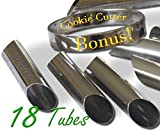Best Tube With Cutters - Cannoli Tubes, Set of 18 with FREE round Review