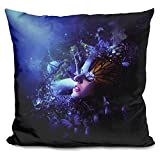 LiLiPi Last Travel of the Butterflies Decorative Accent Throw Pillow