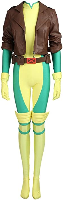 Women S Costume Sets For X Men Rogue Cosplay