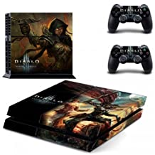 DIABLO 3 STYLISH DESIGN SKIN VYNIL FOR SONY PS4 AND CONTROLLET