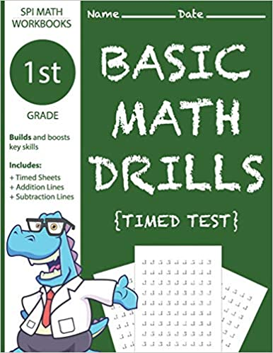 1st Grade Basic Math Drills Timed Test Builds And Boosts