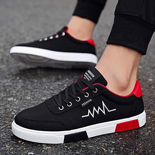 Leisure Sneakers Shoes Trend White Small Shoessingle Men's Canvas NANXIEHO Shoes Breathable Student Shoes Men zApP5Xq0xw