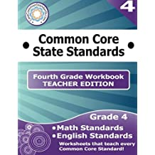 Fourth Grade Common Core Workbook - Teacher Edition