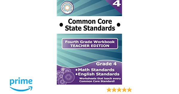 Fourth Grade Common Core Workbook - Teacher Edition: Have Fun ...