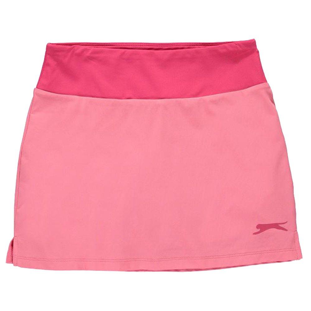 Slazenger Girls Lightweight Stretch Tennis Court Skort (Pink, 11-12 (LG))