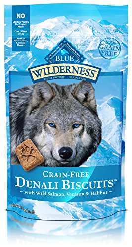 Blue Wilderness Grain Free Denali Biscuits With Wild Salmon, Venison, & Halibut Dog Treats 8-Oz Review