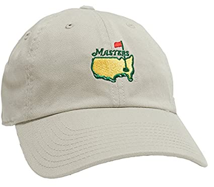 69b36f6308a Amazon.com   Authentic Masters Golf Hat (Stone)   Sports   Outdoors