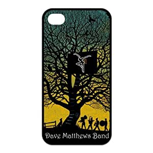 Danny Store 2015 New Arrival Protective Rubber Cover Case for iPhone 4,iPhone 4s Cases - Dave Matthews Band Fire Dancer