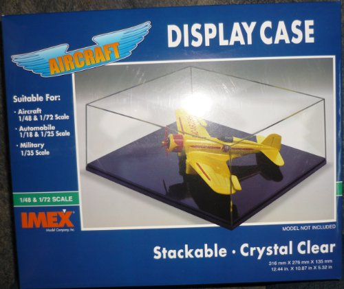 UPC 761963025041, 1/18-1/25 Auto Showcase Clear Base Display Case by Imex