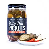 Spicy Dill Pickles: A Little Bit O' Heat (16 oz)