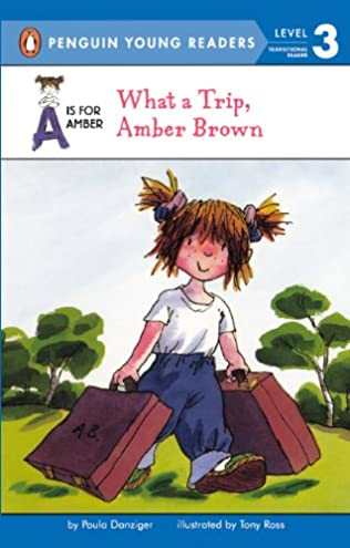 book cover of What a Trip Amber Brown