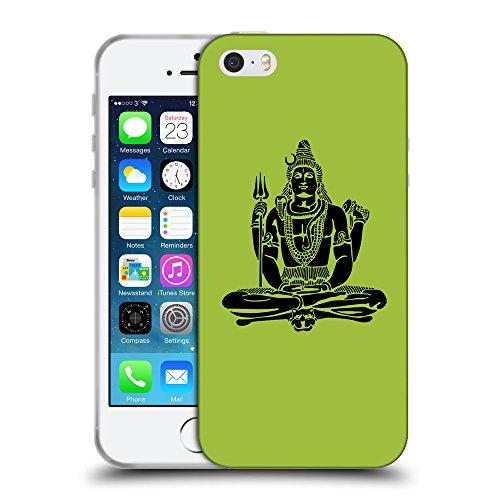 GoGoMobile Coque de Protection TPU Silicone Case pour // Q08100603 Hindou 1 Android vert // Apple iPhone 5 5S 5G SE