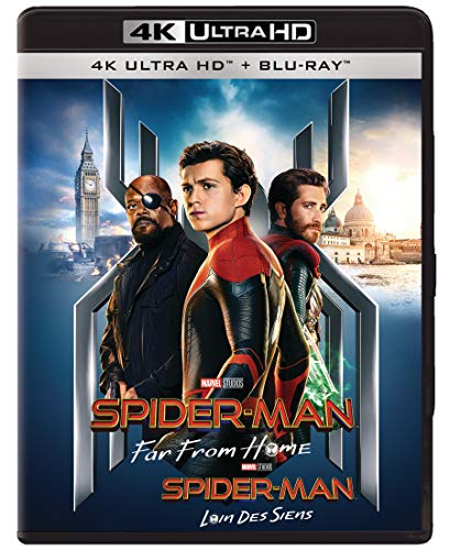 Spider-Man: Far From Home [4K + Blu-ray + Digital] (Bilingual)