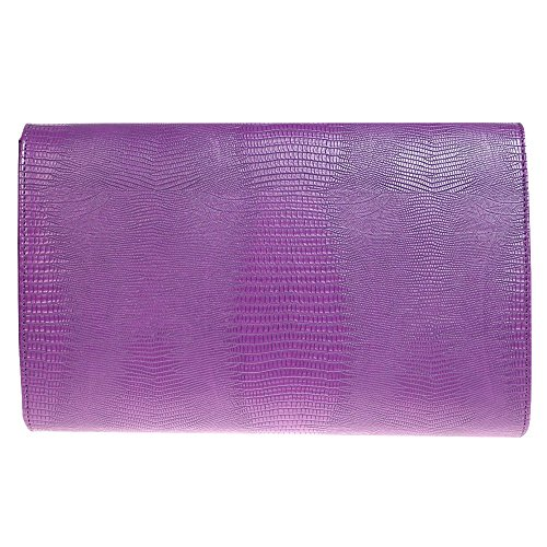 Party Red Women Wiwsi Pattern Crossbody Club Rose Purple Bag Messenger Embossed Evening Handbag rZHWnrwq