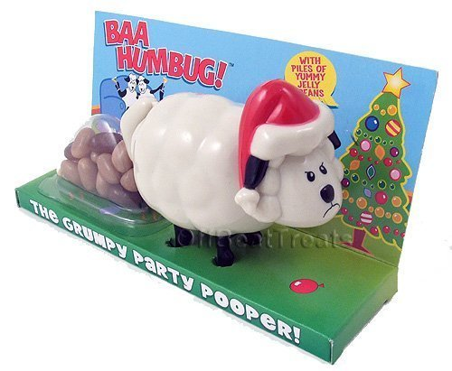 Pooping Reindeer Candy Dispenser - The Grumpy Party Pooper! Jelly Bean Dispenser