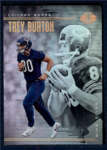 2018 Panini Illusions #59 Mike Ditka/Trey Burton NM-MT Chicago Bears Football