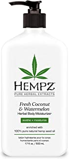 product image for Hempz Body Moisturizer Coconut and Watermelon 17 Ounce Pump (500ml)