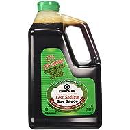 Kikkoman Lite Soy Sauce, 64-Ounce Bottle (Pack of 1)