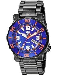 REACTOR Unisex 45508 Atlas Analog Display Quartz Black Watch