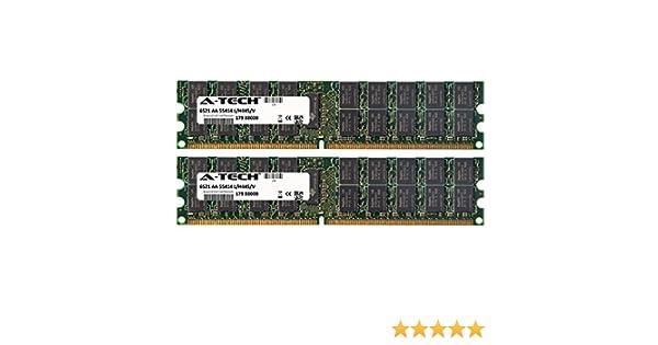 Server RAM 8GB 4x 2GB Dell Precision 470 470N 670 670N ECC REG PC2-3200R Memory