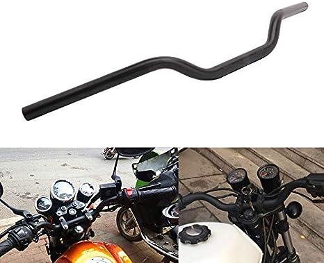 """Chrom 1/"""" 25mm Handlebars Drag Bar For Harley Sportster 1200 883 Fatboy FLHR FLTR"""
