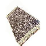 Fashion Jamavar Shawl Catawba Color Pashmina Stole Scarf