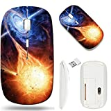 Best MSD Fans - Wireless Mouse 2.4G White Base Travel Wireless Mice Review